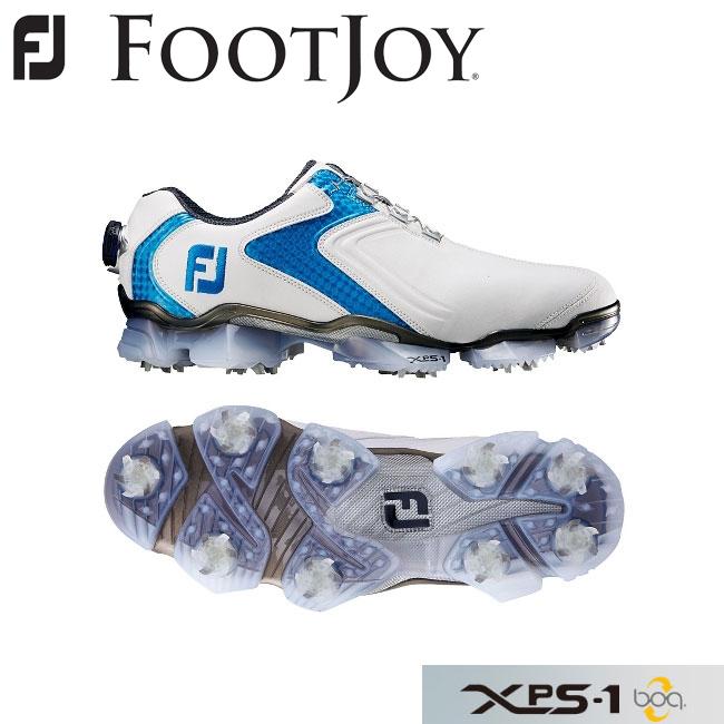 フットジョイ FOOTJOY XPS-1 boa エックスピーエスワン ボア ゴルフシューズ ホワイト+ブルー 56011 2016