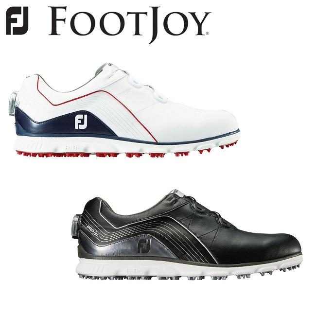 フットジョイ FOOTJOY メンズ NEW FJ Pro/SL Boa ゴルフ シューズ スパイクレスシューズ 2018モデル 53292 53290