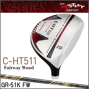 ミステリー MYSTERY メンズゴルフクラブ C-HT511 FW WACCINE COMPO GR-51k FWシリーズシャフト