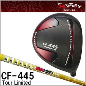 ミステリー MYSTERY メンズゴルフクラブ CF-445 TOUR LIMITED ドライバー OLYMPIC DERAMAX DM-03 シリーズシャフト