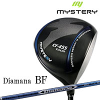 ミステリー MYSTERY メンズゴルフクラブ CF-455 TOUR ドライバー Diamana BF シャフト
