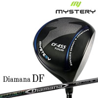 ミステリー MYSTERY メンズゴルフクラブ CF-455 TOUR ドライバー Diamana DF シャフト