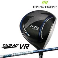 ミステリー MYSTERY メンズゴルフクラブ CF-455 TOUR ドライバー TourAD VR シャフト