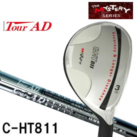 ミステリー MYSTERY メンズゴルフクラブ C-HT811 UT TourAD HY / UT-85,95シリーズシャフト
