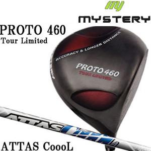ミステリー MYSTERY メンズゴルフクラブ PROTO 460 TOUR LIMITED ドライバー ATTAS COOOL シリーズシャフト