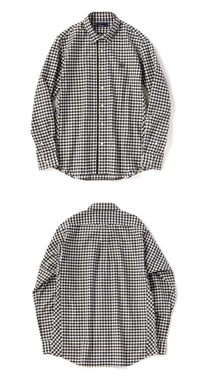 Ralph Lauren Men S On Down Gingham Shirt Small Black White