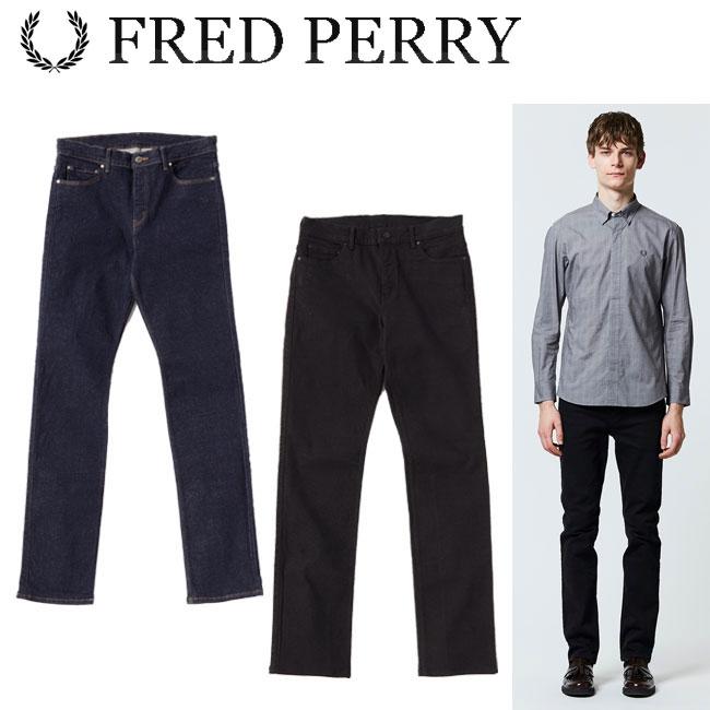 フレッドペリー FRED PERRY スキニー デニム Skinny Denim メンズ ウェア F4456 2018 あす楽 【thxgd_18】