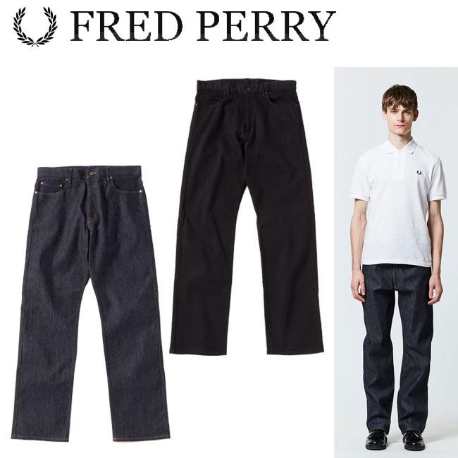 フレッドペリー FRED PERRY ストレート デニム Straight Denim メンズ ウェア F4474 2018 あす楽 【thxgd_18】