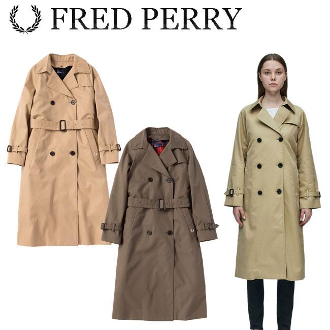 フレッドペリー FRED PERRY レディースウェア トレンチコート F6269 あす楽 ポイント消化 買い回り 買いまわり 買い周り