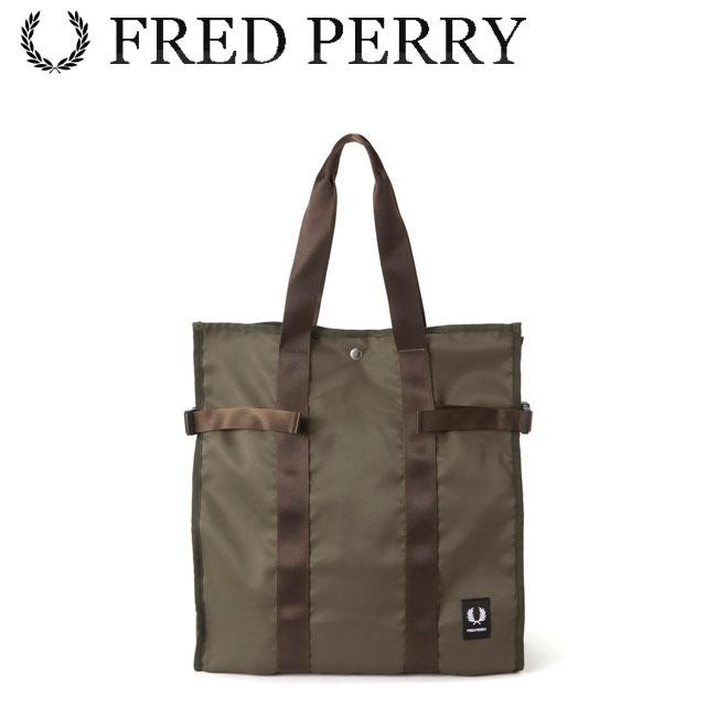 フレッドペリー FRED PERRY ミリタリートートバッグ Laurel Leaf Dyed Tote Bag F9532 あす楽