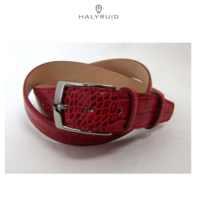 ハリールイド HALYRUID メンズ ゴルフ 革ベルト HU314-040