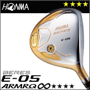 本間ゴルフ HONMA GOLF BERES E-05ドライバー ARMRQ∞シリーズ 4Sグレード 2016