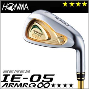 本間ゴルフ HONMA GOLF BERES IE-05 アイアン 単品 #5,Sw ARMRQ∞シリーズ 4Sグレード 2016