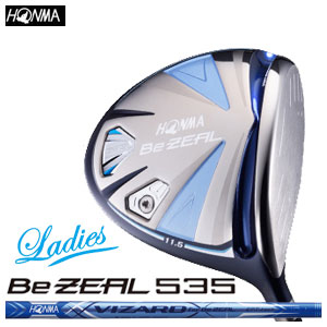 本間ゴルフ HONMA GOLFB Be ZEAL535 Ladies ドライバー VIZARD for Be ZEAL レディース ゴルフクラブ 2018