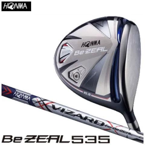 本間ゴルフ HONMA GOLF メンズ ゴルフ クラブ Be ZEAL535 ビ ジール 535 ドライバー VIZARD for Be ZEAL カーボンシャフト 2018