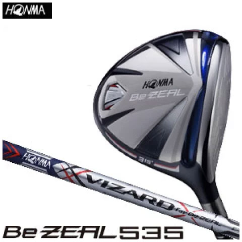 本間ゴルフ HONMA GOLF メンズ ゴルフ クラブ Be ZEAL535 ビ ジール 535 フェアウェイウッド VIZARD for Be ZEAL カーボンシャフト 2018