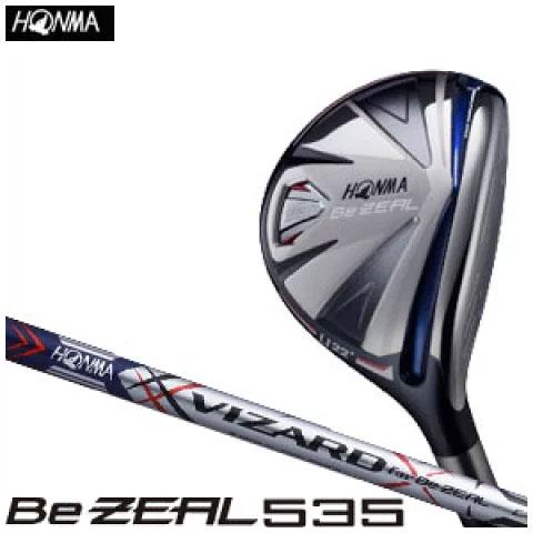 本間ゴルフ HONMA GOLF メンズ ゴルフ クラブ Be ZEAL535 ビ ジール 535 ユーティリティー VIZARD for Be ZEAL カーボンシャフト 2018