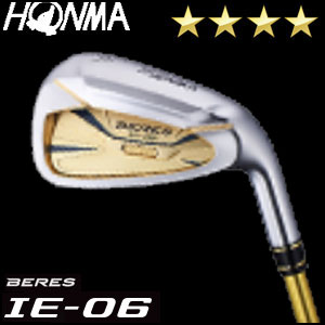 本間ゴルフ HONMA GOLF BERES IE-06 アイアン 6本セット(#6-#11) ARMRQ Xシリーズ 4Sグレード メンズ ゴルフクラブ 2018