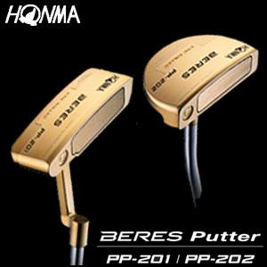 本間ゴルフ HONMA GOLF PP Putter パター PP-201/PP-202 金メッキ仕上げ メンズ ゴルフクラブ 2018 【thxgd_18】