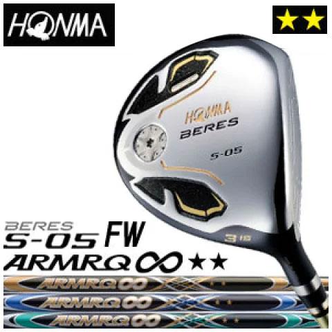 本間ゴルフ HONMA GOLF BERES S-05 FW ARMRQ∞シリーズ 2Sグレード メンズ 2016