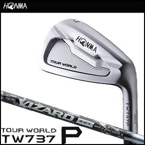 本間ゴルフ HONMA GOLF メンズ アイアン TOUR WORLD TW737 P IRON 単品 #3,#4,#11,#SW VIZARD INシャフト 2016 【thxgd_18】