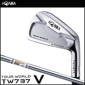 本間ゴルフ HONMA GOLF メンズ アイアン TOUR WORLD TW737 V IRON 単品 #3,#4 Dynamic Gold AMTシャフト 2016