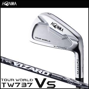 本間ゴルフ HONMA GOLF メンズ アイアン TOUR WORLD TW737 VS IRON 単品 #3,#4 VIZARD IBシャフト 2016