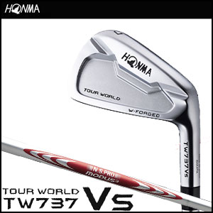 本間ゴルフ HONMA GOLF メンズ アイアン TOUR WORLD TW737 VS IRON 6本セット #5-#10 N.S.PRO MODUS3 TOUR105シャフト 2016