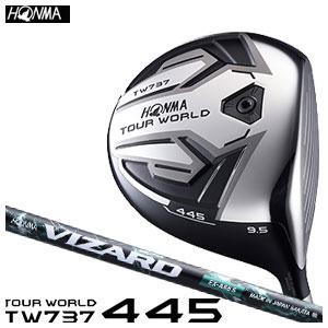 本間ゴルフ HONMA GOLF メンズ ドライバー TOUR WORLD DRIVER TW737 445 VIZARD EX-Aシャフト 2016
