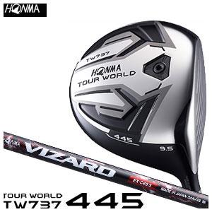 本間ゴルフ HONMA GOLF メンズ ドライバー TOUR WORLD DRIVER TW737 445 VIZARD EX-Cシャフト 2016