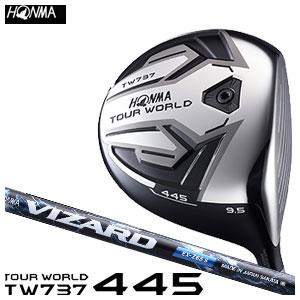本間ゴルフ HONMA GOLF メンズ ドライバー TOUR WORLD DRIVER TW737 445 VIZARD EX-Zシャフト 2016