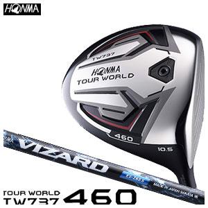 本間ゴルフ HONMA GOLF メンズ ドライバー TOUR WORLD DRIVER TW737 460 VIZARD EX-Zシャフト 2016