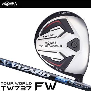 【8/1限定★24時間ポイント10倍★0:00~23:59】本間ゴルフ HONMA GOLF メンズ フェアウェイウッド TOUR WORLD FAIRWAY WOOD TW737 VIZARD EX-Zシャフト 2016