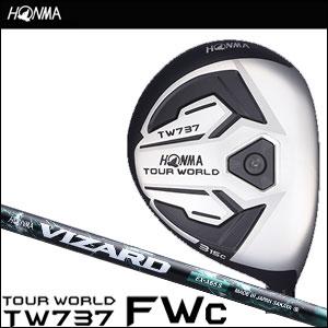 本間ゴルフ HONMA GOLF メンズ フェアウェイウッド TOUR WORLD FAIRWAY WOOD TW737 FWc VIZARD EX-Aシャフト 2016