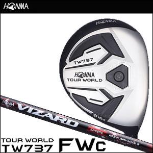 【8/1限定★24時間ポイント10倍★0:00~23:59】本間ゴルフ HONMA GOLF メンズ フェアウェイウッド TOUR WORLD FAIRWAY WOOD TW737 FWc VIZARD EX-Cシャフト 2016
