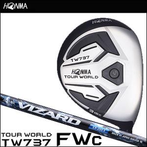 本間ゴルフ HONMA GOLF メンズ フェアウェイウッド TOUR WORLD FAIRWAY WOOD TW737 FWc VIZARD EX-Zシャフト 2016