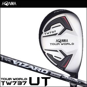 本間ゴルフ HONMA GOLF メンズ ユーティリティー TOUR WORLD UTILITY TW737 VIZARD IB-Uシャフト 2016