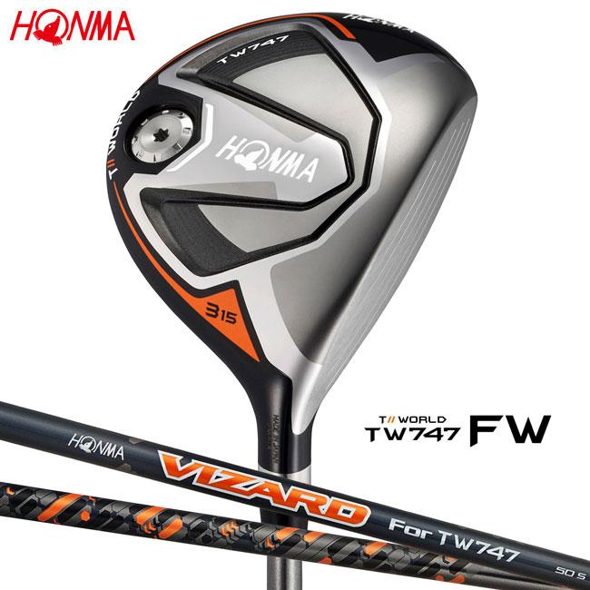 本間ゴルフ HONMA GOLF メンズ フェアウェイウッド TOUR WORLD FW TW747 VIZARD For TW747 シャフト 2018