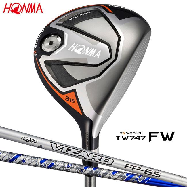 本間ゴルフ HONMA GOLF メンズ フェアウェイウッド TOUR WORLD FW TW747 VIZARD FPシャフト 2018