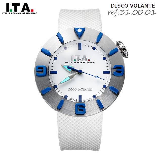(39ショップ対象 エントリーP5倍)アイティーエー 腕時計 ITA I.T.A. ディスコ ボランテ DISCO VOLANTE Ref.31.00.01