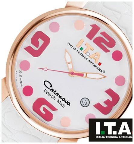 アイティーエー 腕時計 ITA I.T.A. カサノバ・ビーチ ミディ Collection Casanova beach Midi Ref.19.03.09