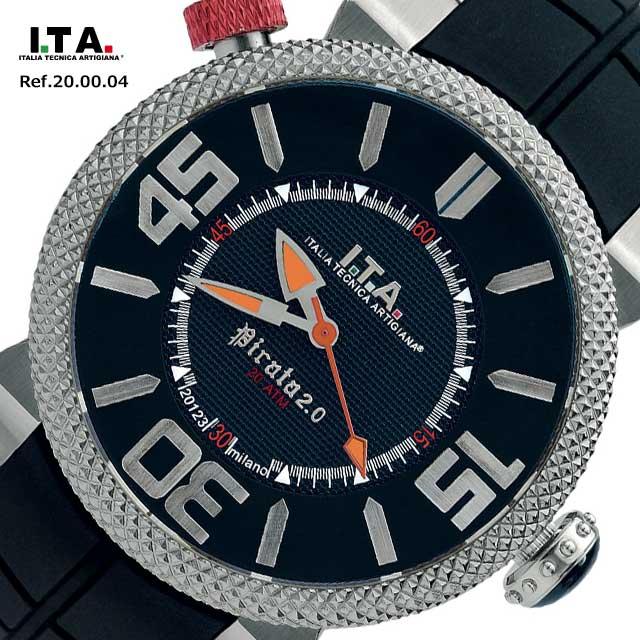 アイティーエー 腕時計 ITA I.T.A. ピラータ Pirata 2.0 Ref.20.00.04 あす楽