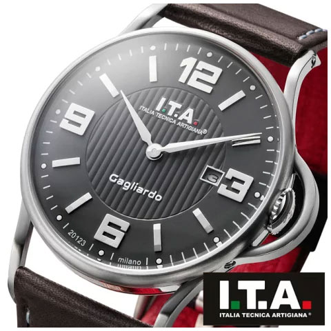 【エントリー不要 マラソン期間中全品P2倍】【先着キャンペーン実施中】アイティーエー 腕時計 ITA I.T.A. ガリアルド Gagliardo Ref.23.00.02