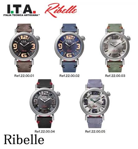 アイティーエー 腕時計 ITA I.T.A. リベッレ Ribelle