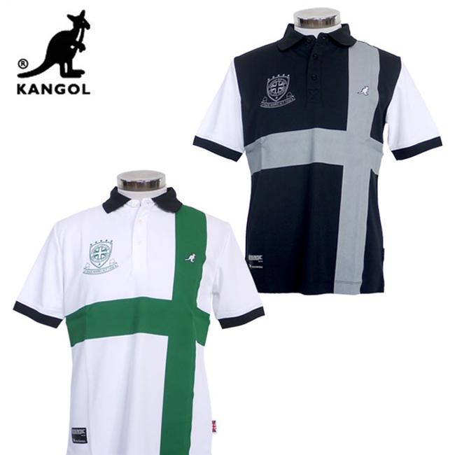 カンゴール KANGOL メンズゴルフウェア ポロシャツ KASM-0083(61KA-5SP03100M) あす楽
