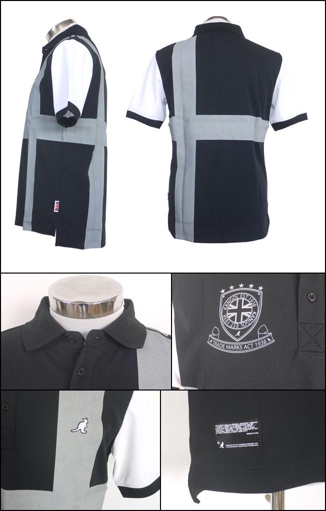 28ed60cb14c961 カンゴール KANGOL KANGOL KANGOL メンズゴルフウェア ポロシャツ KASM-0083(61KA-5SP03100M) あす楽 d66