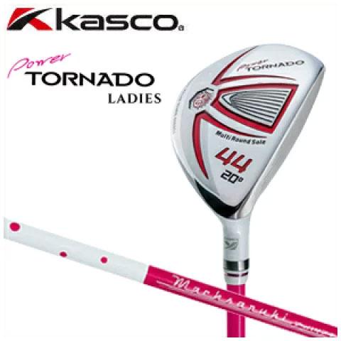 キャスコ KASCO レディース ユーティリティ ウェッジ Power TORNADO9 パワートルネード9 LADIES Ut-WEDGE 純正カーボンシャフト ゴルフ クラブ