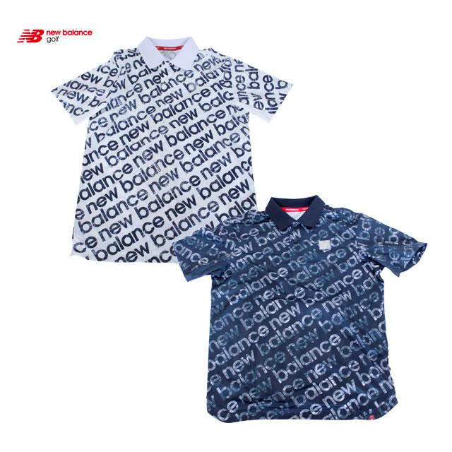 2020モデル ニューバランス ポロシャツ メンズ ゴルフ ウェア おしゃれ 大人 かっこいい NEW BALANCE GOLF 012-0160004 コアーズ市場店 あす楽
