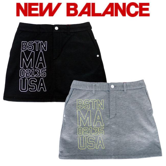 ニューバランス ゴルフ スカート NEW BALANCE GOLF レディース ゴルフ ウェア ボンデッドスカート 012-8234503 あす楽