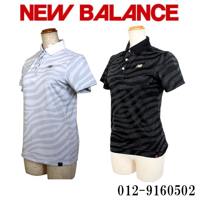 2019年春夏新作 あす楽 ニューバランス ゴルフ スリーブポロシャツ NEW BALANCE GOLF レディースゴルフ ウェア 012-9160502 あす楽